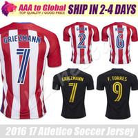 atletico torres - Camisa atletico de madrides maillot soccer shirt Griezmann Torres soccer jersey camisetas de futbol Godin football jersey