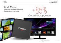 T95M 4k smart tv Kodi 16.0 android tv boîte Amlogic S905 WIFI XBMC installé Android 5.1 Quad Core Mali-450 Affichage LED