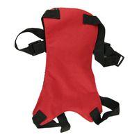 Wholesale Essential Brand New Dog Cat Pet Safety Seat Belt Fit Vehicle Seatbelt Car Harness Vest Size M DarkRed