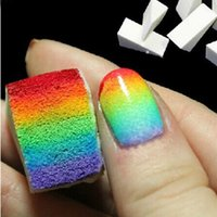 Wholesale 2017 New Fashion Selling Manicure Sponge Diy Manicure Gradient Tool Stars Gradual A Pack Of Essential