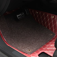 Wholesale Car Floor Mats Car Special Floor Mat Black Beige Wine Red Brown for Infiniti EX25 EX35 EX37
