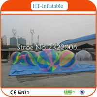 Wholesale High Quality Factory Price Inflatable Water Walking Ball Water Zorb Ball Inflatable Water Balloon For Sale