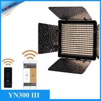 Wholesale YONGNUO YN300 III YN III LED Camera Video Light with Adjustable Color Temperature K K for Canon Nikon Pentax Olympas