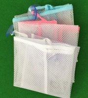 Wholesale New Arrive Baby Toy Mesh Storage Bag Bath Bathtub Doll Organizer Suction Bathroom Stuff Net
