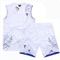 basketball uniforms sets - Summer basketball suit men basketball training jerseys Custom uniforms mark printing number name group team sport set