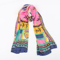 Wholesale 2016 autumn women new style silk scarf large size ladies shawl color optional mdv scf2200001