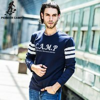 basketball jackets - Pioneer Camp New Arrival Mens Hoodies Basketball Sweatshirts Hoodies for Men Cotton Plus Size Hoody Jacket
