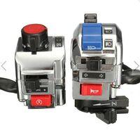 Wholesale 7 inch Handlebar Horn Turn Signal Light Start Control Switch Motorcycle Universal