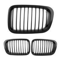 Wholesale New One Pair Front Grill Door For BMW E46 i i i i i