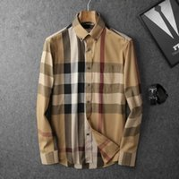 Wholesale Brand new counters winter domestic business and leisure men s fashion classic plaid cotton cultivate one s morality shirt long sleeve shirts