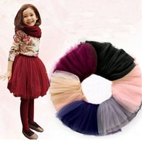 Wholesale 2016 spring summer lovely fluffy soft tulle girls tutu skirt pettiskirt colors girls skirts for Y kids clothes