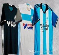 bamboo sleeves - NEW Olympique de Marseille home away soccer jerseys survetement football maillot de foot Thai quality