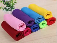 Wholesale Cooling Towel Cold Towel Summer Sports Ice Cooling Towel Double Color Hypothermia cool Towel cm for sports with Gift Package