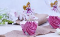 beauty party supplies - 20pcs The Sleeping Beauty Cake Plates Party Decorations Cupcake Wrappers Toppers Picks Wedding Birthday Supplies May Style