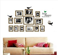 Wholesale DIY Home Decoration Wall Decals Classic Scenery and Hollywood Star Art Murals for Living Room