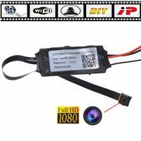 Wholesale 32GB DIY Mini Hidden Spy Camera Wifi Module Home Security Camera Hd p Ip CAM Pinhole P2p Dvr Camcorders Video Recorder Remote By App