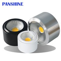 barrel spotlight white - New style manufacturers COB LED ultrathin spotlight Open installed W W W W v light barrel ceiling lamp