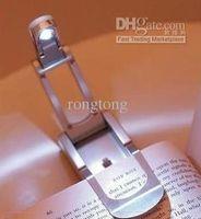 Wholesale Robotic LED Reading Light Clip Book Lamp mini foldable Torch