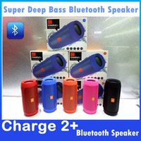 best stock packaging - Charge Plus Speakers Portable Outdoor Bluetooth Subwoofer Best Bluetooth Speaker Colors With Retail Package DHL In Stock