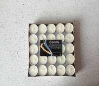 Wholesale 14 grams of smokeless tasteless tea wax hours burning floating candles figure a candle