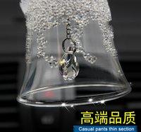 Wholesale Car accessories car pendant pendant pendant high grade crystal snowflake crystal Campanula bell car