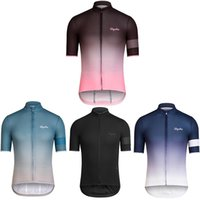 Wholesale 2016 Ra pha Cycling Tops Cycling Jerseys Short Sleeve Blue Black Pink Men Summer Cycling Clothing Top Class Lycra Close Fitting Skinsuit