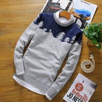 Wholesale New Style Fashion Cashmere Sweater Men Autumn amp Winter Warm Mens Sweaters High Quality Wool Pullover Men Knitwear