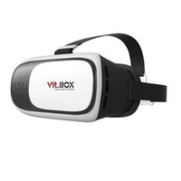 Wholesale Head Mount Plastic VR BOX Version VR Virtual Reality D glasses Rift Google D Movie for quot quot Smart Phone
