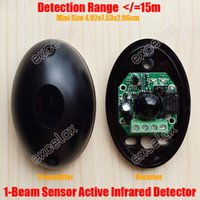 automatic barrier gate - Single Beam m Photoelectric Active Infrared Intrude Detector IR Sensor Tamper Alarm Outdoor Automatic Door Gate Window Barrier