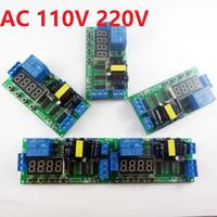 ac delay timer - 5pcs AC V V DC V Multifunction Delay Relay Timer Switch Digital tube LED controller