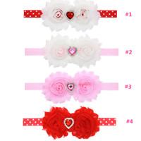 Wholesale headband heart headband baby headband preemie headband baby hair bows hair bows valentines day headband valentine headband pink headband