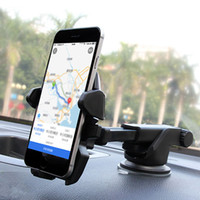 Wholesale car mount holder cell phone holder car hoder GPS holder new degree rotary universal for dashboard and windshield