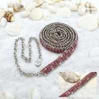 Wholesale crystal waist chain Korean female models wild crystal inlay luxury big money belt belly dance waist chain Ms