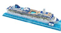 Wholesale Kids Toys D Puzzle Beneficial to wisdom Cruise Ship DIY Jigsaw puzzle Educational Toys Paper Model