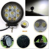 Wholesale 1PCS Inch W LED Work Light Bar Offroad Boat Car Tractor Truck SUV ATV Flood V