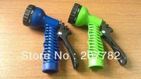 Wholesale 600pcs Original Lightweight Pattern Sprayer Nozzle Garden Hose Water Gun Yard Water Pistol Green Blue Mix