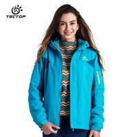 Wholesale Water Resistant Breathable Ladies Sports Coats windbreaker Ski Hiking Windproof winter Outwear outdoor jacket for womens