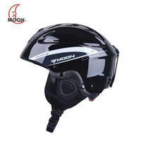 Wholesale MOON Top Quality Skiing Helmet Ultralight Ski Helmet Extreme Sports Snowboard Helmet Safety Ski Helmet