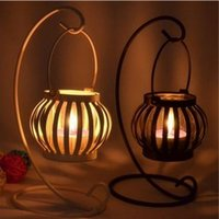 best candle lantern - Candle Holders Lantern Glass Iron Art Candleholder Candelabrum Candlestick Home Decor Gift Your Best Choice
