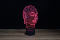 Wholesale D Meeting Room Buddha Decoration Led Nite Light with FCC and UL Certificate YJM