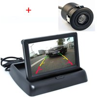 Wholesale Auto Parking Assist System in Car Rear View Camera With Monitor Night Vision Car Parking Camera With Monitor For All Car