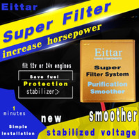 Wholesale SUPER FILTER system Car Pick Up Fuel Saver voltage Stabilizer Increases Horse Power and Torque for all v and v cars