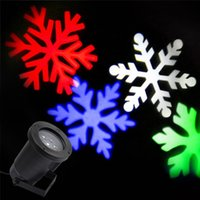 Wholesale Waterproof Moving Snow Laser Projector Lamps Snowflake LED Stage Light For Christmas Party Light Landscape Light Garden Lamp Outdoor
