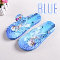 Wholesale Children s Frozen Slippers Elsa Anna Home Slippers Girls Beach Shoe Sandals For Girls Size24