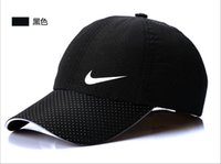 Wholesale new fashion sport baseball cap flat brimmed hat visor hat wild personality hip hop hats for men women ball caps