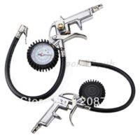 Wholesale Auto Air Compressor Tire Tyre Inflating Inflator Tool Pressure Dial Gauge auto tire pressure gauge tire gauge digital