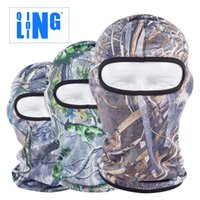 Wholesale New Popular forest soft mask fishing equipment for outdoor riding hoods bionic Camo quick dry Breathable sunscreen mask