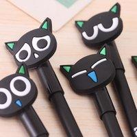 art cheese - B039 Hot Korea stationery cute cartoon cat cheese Gel pen pen school supplies L0069