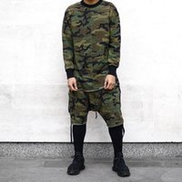 Wholesale new arrival summer mens camo camouflage plus size shorts justin bieber clothes kanye west tyga clothes clothing HIP HOP
