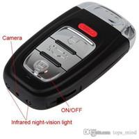 av dv - 2013 Promotion Rushed Car Key Spy Dv H Full Hd p Camera Keychain Dvr Video Motion Detection Night Vision Mini AV OUT